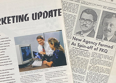 quinlan newspaper announcement